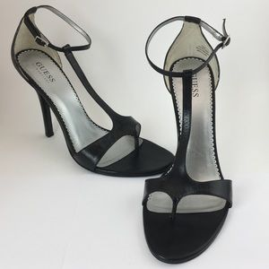 """Guess by Marciano """"Crave"""" T-strap Heels"""